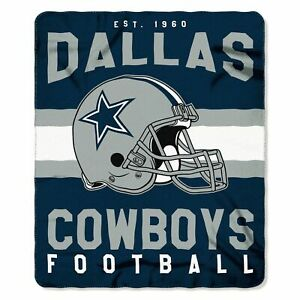 "Dallas Cowboys NFL 50"" x 60"" Fleece Throw Blanket - New With Tag"