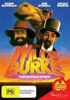 Wills and Burke - The Untold Story | Ozploitation Classics (DVD) NEW/SEALED