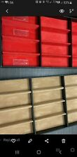 12 Slot Eyeglass Sunglass Storage Display Case Organizer Box Lined Fabric New
