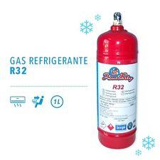 BOMBOLA GAS REFRIGERANTE R32 da 1 LITRO PER CONDIZIONATORI CLIMATIZZATORI AUTO