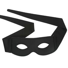 Zorro Black Eye Mask With Ties Fancy Dress up Party Masquerade Ball