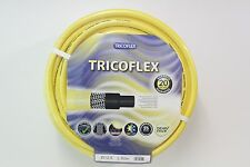 Tricoflex Yellow Professional Quality Garden / Nursery Hose Pipe All Sizes 25mm 100 Metres