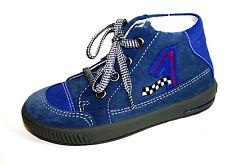Superfit Schuhe für Jungen aus Leder mit Schnürsenkeln und medium Breite