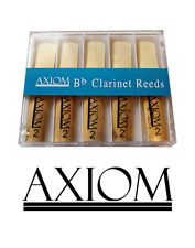 Axiom Clarinet Reeds 1.5 Pack of Ten