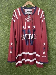 Vintage Washington capitals NHL Reebok hockey jersey