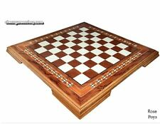 Wooden chessboard Pearl 4 - Top quality gift - Wooden handmade Rosewood mosaic