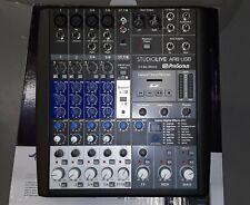 PreSonus Studiolive Ar8 Usb mixer perfect condition new firmware cables included