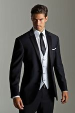 New Men's Wedding Suits Groom Suits Bridal Tuxedos Formal Occasion Party Suits