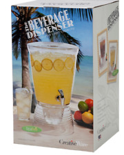 PARTY PUNCH ICE TEA COCKTAIL HOLIDAY BEVERAGE 2.5 Gallon Acrylic Drink Dispenser