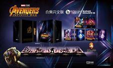 Avengers Infinity War - Blufans One Click Box Set Steelbook Neu/OVP Blu-ray