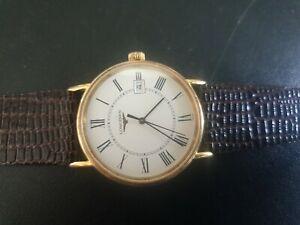 Mens Longines quartz watch L4 636 2