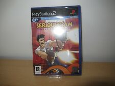 PS2 Serious Sam : Prochaine Rencontre, GB PAL , neuf & Sony scellé en Usine
