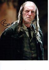 David BRADLEY Harry POTTER Argus FILCH Signed Autograph 10x8 Photo AFTAL COA