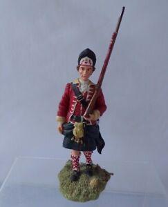 Sculptures UK Hand Made Grenadier ? Scottish Infantry Tartan Kilt Figurine