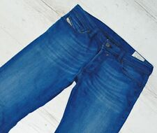 DIESEL JEANS SAFADO 31/34 W31 L34 WASH 0R8LL STRETCH MADE IN ITALY