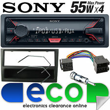 Vauxhall Corsa C 2000 - 2004 SONY Mechless MP3 AUX Car Stereo Radio Kit Black