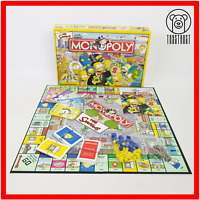 Monopoly The Simpsons Edition Board Game Parker Habsro Family Fun