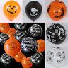 10pcs Halloween Party Balloon Decoration Pumpkin Spider Mixed Room Ornaments