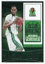2015 Contenders Draft Picks - Hassan Whiteside #38 - Marshall