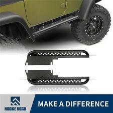 Hooke Rock Crawler Side Step Nerf Bar Running Boards for 97-06 Jeep Wrangler TJ