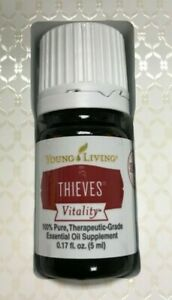 Young Living THIEVES Vitality Essential Oil - 5ml - Pure Therapeutic Grade NEW