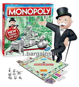 Monopoly Classic New Token Line Up - Traditional Family Board Game NEW!!