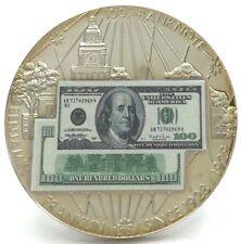 2007 Banknotes of the USA Ben Franklin $100 Copper-Nickel w/ COA