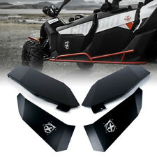 Aluminum Front & Rear Lower Door Inserts Panels Kit for 17-19 Can-Am Maverick X3