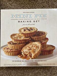 "Metal Individual 4 1/2"" Tart Pans Mini Quiche Pans Pie Round. 1 Tray Makes 4 Pie"
