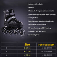 Adjustable Size Inline Roller Skates Kids Youth Boys Girls Youth