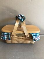 Longaberger Homestead 2000 Woven Memories Basket With 6 Family Signatures