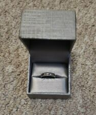 Solid Real 14K White Gold Wedding Anniversary Band Ring Milgrain 5.2 mm Size 9.5