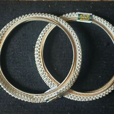 NOS Tioga Comp III 3 20x1.75 BMX Tires White/Gum Vintage 1980s