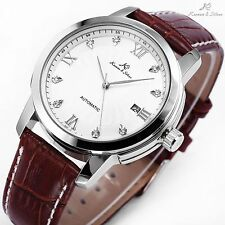 Kronen & söhne Men's Imperial white  Automatic Mechanical stainless steel watch