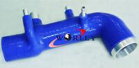 Intake/Inlet Pipe/Hose For Subaru GC8 EJ20 WRX STI Induction turbo 98 99 00 BLUE