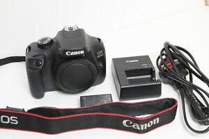 Canon EOS 4000D 18.0MP Digital SLR Camera - Black (Body Only)