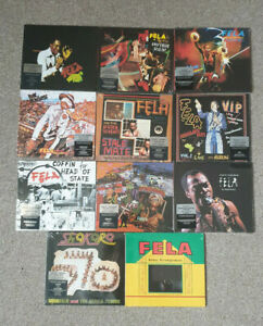11 x Fela Kuti CD's - New And Sealed - Job Lot / Bundle