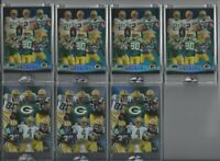 2004 Green Bay Packers Etopps Brett Favre Donald Driver Team Card /2500 NFL