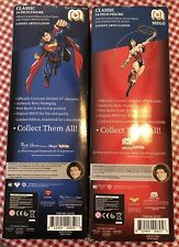 Mego Superman & Wonder Woman Lot Classic 14 Inch Figures /8000 Marty Abrams