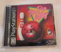 Ten Pin Alley (PlayStation PS1) Original Complete Excellent!