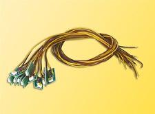 SH Viessmann 6007 Hausbeleuchtung mit 1 LED  gelb 10 Stück Fabrikneu