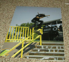 Nyjah Huston Signed 11x14 Skateboarding Photo with proof