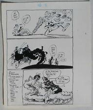 Original Dan O'Neill Art:  Bucky Bug, Air Pirates #1