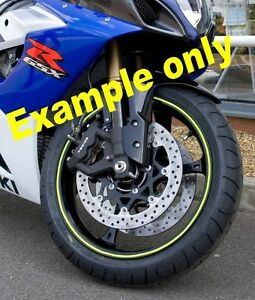 WHITE Rim Tape Wheel Strip 6M x 7MM + Applicator Genuine 3M. RS-W