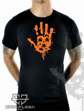 Cryoflesh Contaminated Cyber Industrial Gothic EMO EBM Rave Shirt Male S-XXL