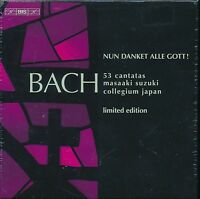 Masaaki Suzuki Collegium Japan Nun Danket Alle Gott! box CD NEW Limited Edition
