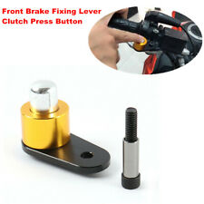 Motorcycle Front Brake Fixing Lever Horn Switch Press Button for Kawasaki Suzuki