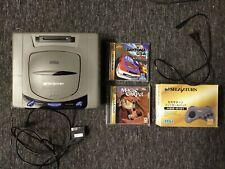 Sega Saturn Konsole NTSC-J Japanese plus Spiele. Daytona USA. Magic Carpet