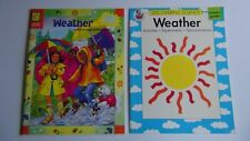 Weather Skill Builder Activity Book & Discovering Science-Weather Primary
