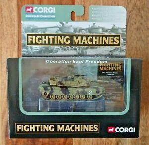 Corgi Fighting Machines CS90286 M1 Abrams Tank Woodland Camouflage NEW